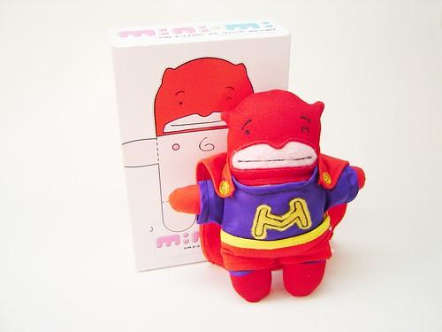 Mini-mi do Homem Maravilhoso, criação do Hiro Kawahara