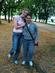 Na foto, Lú Rosa e Madalena