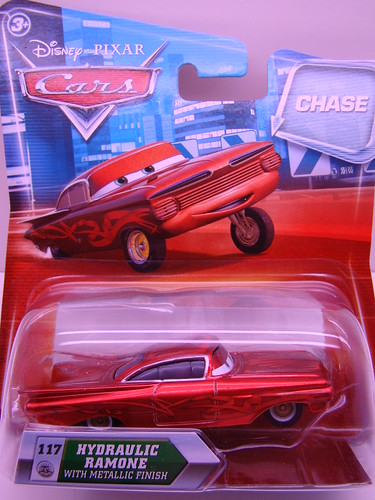 Disney CARS Chase metallic ramone (2)