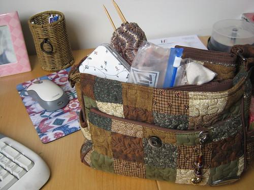 Handbag o' crafting!