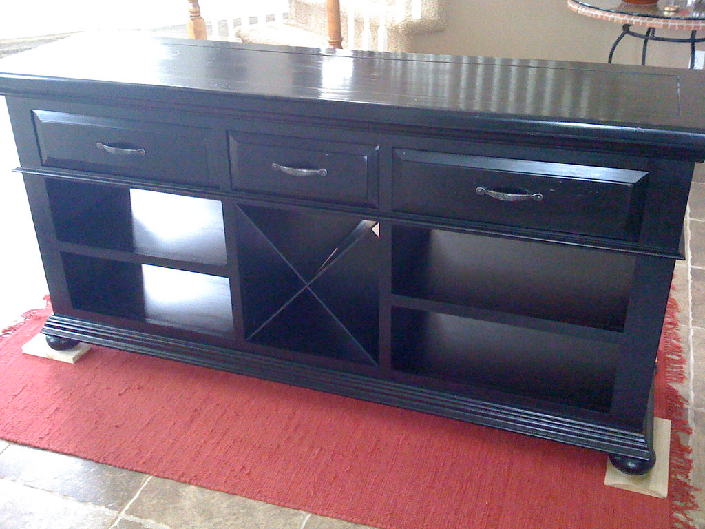 Buffet - Painted and Poly'd