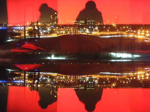 Silhouette in the Gurthrie Window