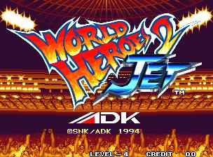 World Heroes 2 Jet