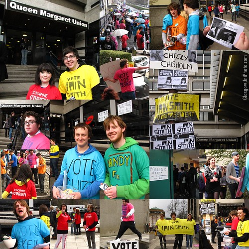 QMU Annual Election, Spring 2010