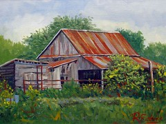 Old Barn - 11x14