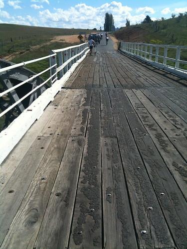 Dalgety - the bridge that eats bike wheels