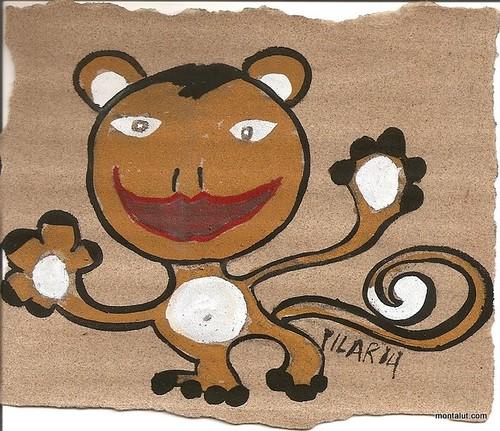monkey at play