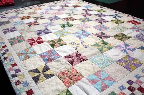 My Sister's Pinwheel Quilt