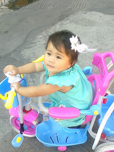 Lia the tricycle driver