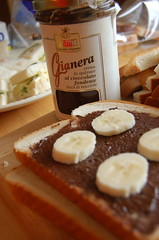 homemade AfternoonTea Nutella