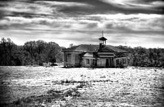 Old Shiloh School Photomatix