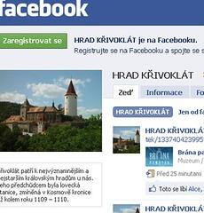 Křivoklát na FB