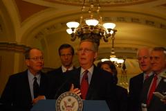 Senate Republican Leaders Discuss Health Care