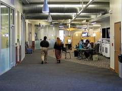 Norlin Commons from library main entrance