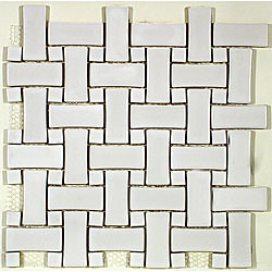 tile white basketweave