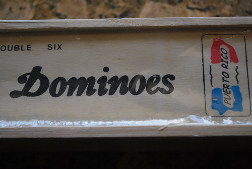 Puerto Rican dominoes (made in China)