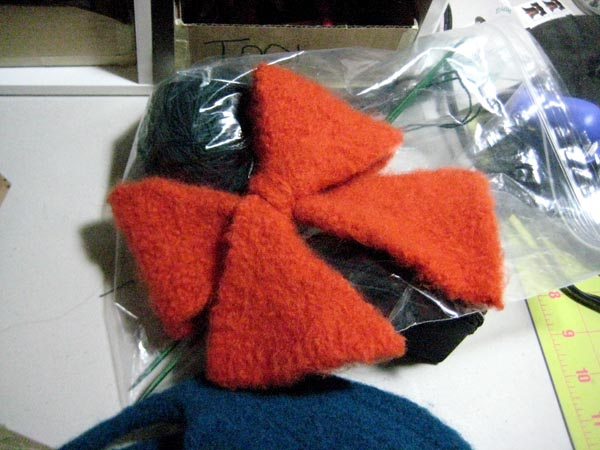 New Felted Bow