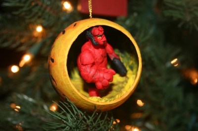 A Hellboy Christmas (ornament)