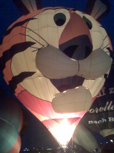 tigger's balloon!