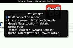 Seesmic for BlackBerry