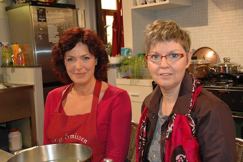 bij Rosa in de keuken