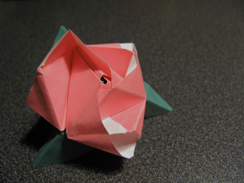 Magic Origami rose