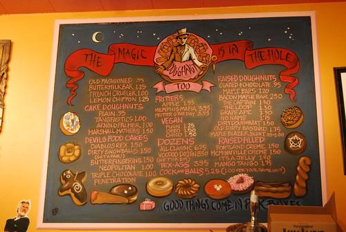Voodoo menu