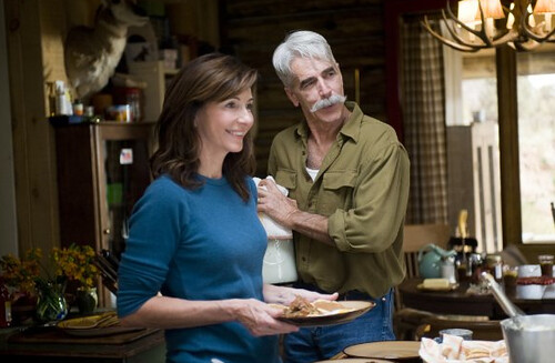 Mary Steenburgen and Sam Elliott in Did You Hear About the Morgans?