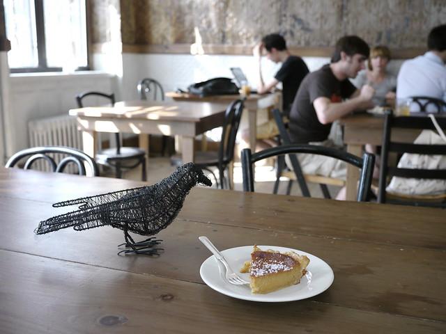 Blackbird with Salt Honey Pie