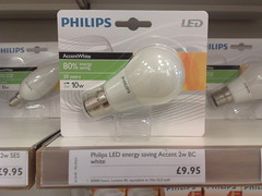 philips led accentwhite lightbulb
