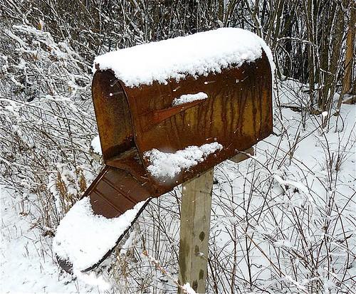 Rusty Mailbox #1