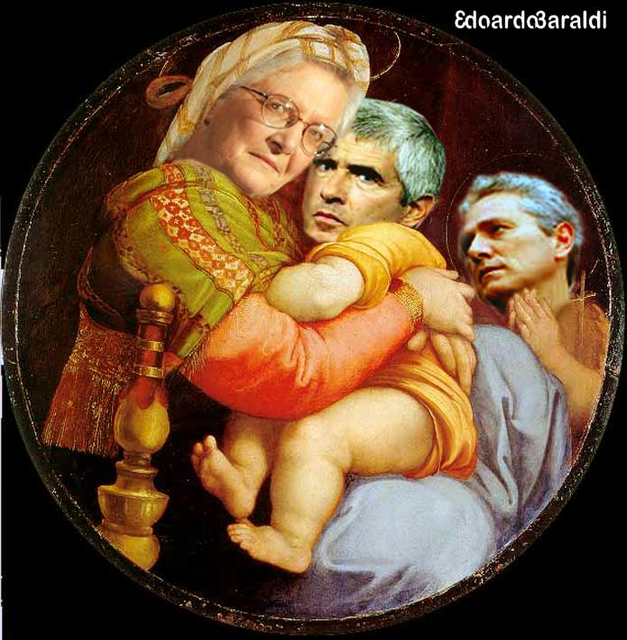 Madonna con Bambino e san Franceschino