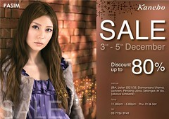 Sutra Puri Beauty Saloon Kanebo Year End Sale