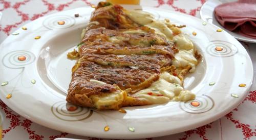 dilpeynirli omlet