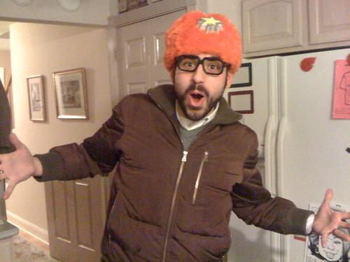 Rob's yo gabba gabba dj lance rock hat
