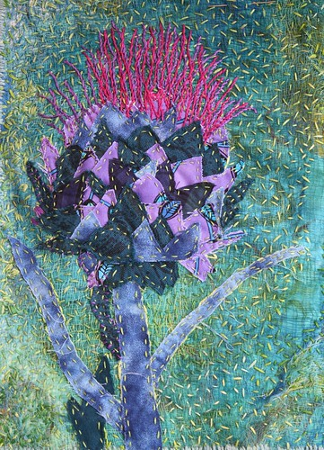 cardoon embroidery
