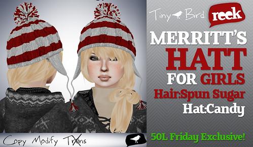 Merritt's Hat For Girls - Candy