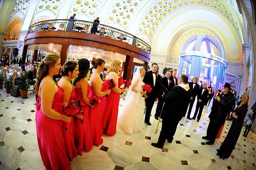 Wedding Ceremony at Union Station
