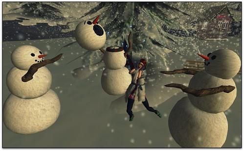 snowmen by FallnAngel Creations