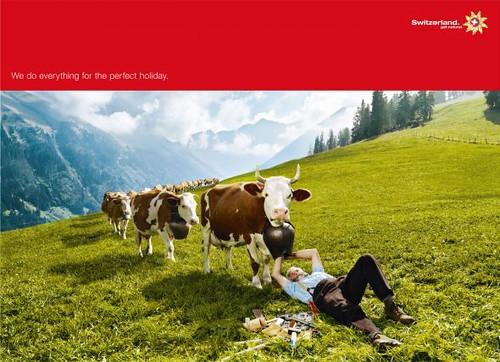 En Suiza hacen de todo para que tengas unas perfectas vacaciones