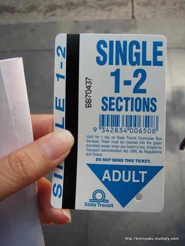 The Prepaid Bus Card