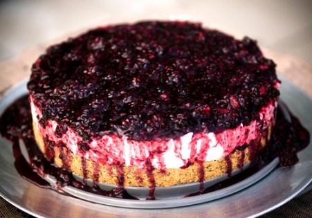 Jamie Oliver's Lemon-Vanilla no bake Cheesecake with