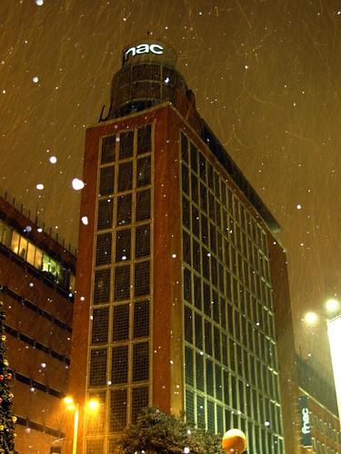 FNAC bajo la nieve