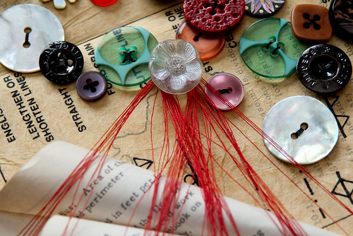 Altered Book- Buttons-2