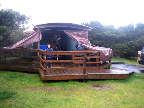 OR Coast Yurt