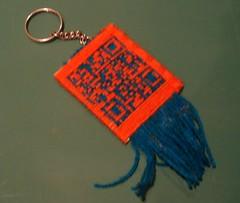 QR keychain