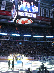 Toronto Maple Leafs versus New York Rangers