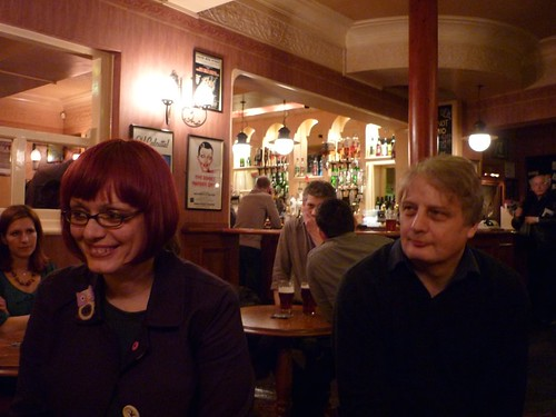 Marianthi and Pete in the Lord Roberts