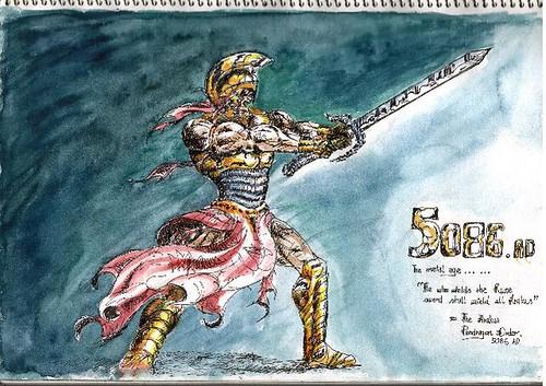 "1989 - ""The Arakus Pendragon Order - 5086 AD"""