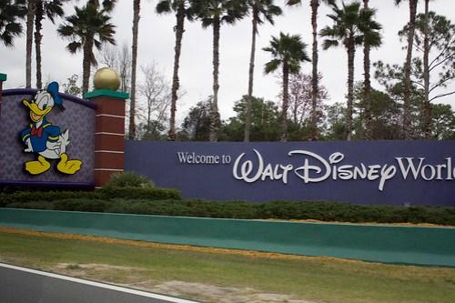 Entering Walt Disney World